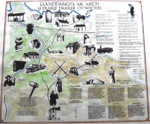 Historical map of the parish