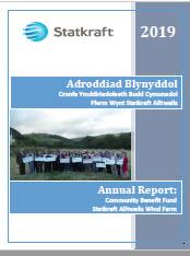 Adroddiad Blynyddol - Annual Report 2019 terfynol