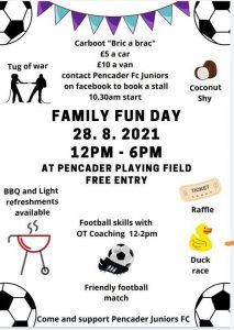 Family Fun Day – 28th August